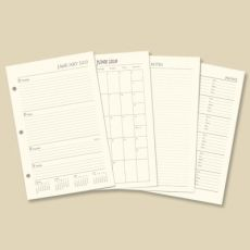 Ringbound Planner Ivory Refill  Item# 14307-20