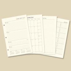 2022 Ringbound Planner Ivory Refill  Item# 14307-22