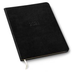 Leather Large Desk Weekly Planner