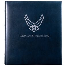 USAF Leather Compact Photo Album