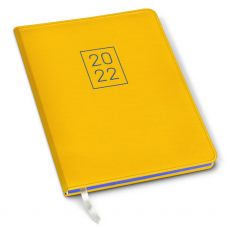 CLEARANCE - 2022 Simulated Leather Academic Planner - Cambridge Mango