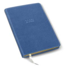 """Desk Monthly Leather Planner/Notebook - 8"""" x 5.5"""""""