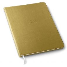 "Large Monthly Leather Planner - 9.75"" x 7.5"""