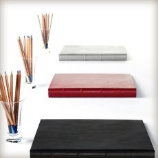 """Leather Presentation Binder - 1 1/4"""" With Hubbed Spine"""