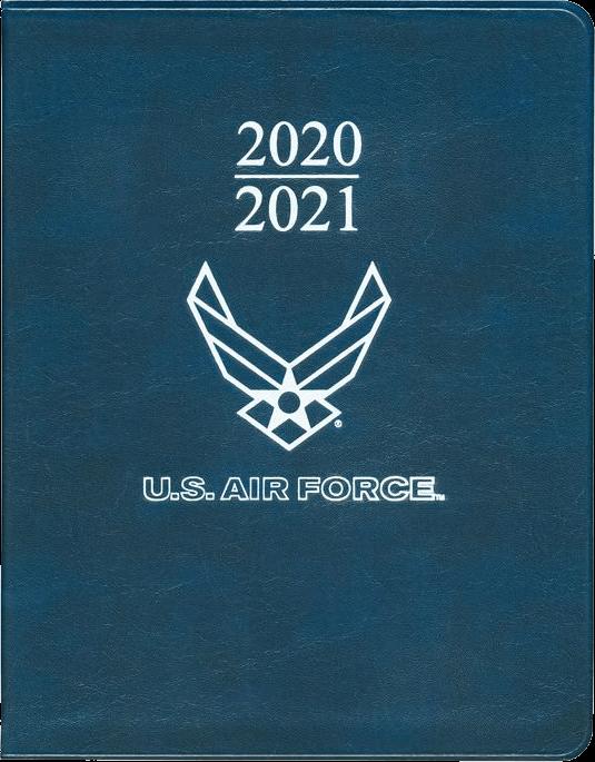 USAF Desk Weekly Planner