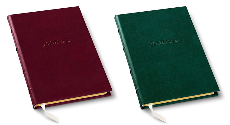 hardcover leather journals