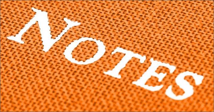 bookcloth orange pocket journal close up