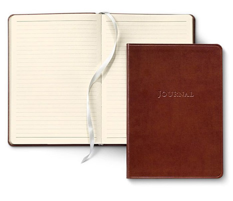 journal cover and interior