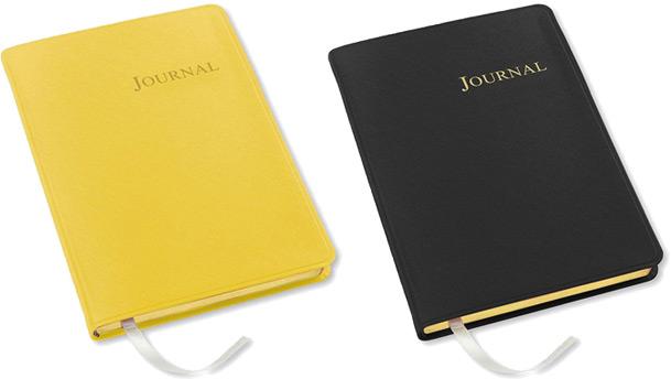 key west leather desk journals