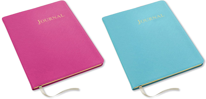 key west large leather journals