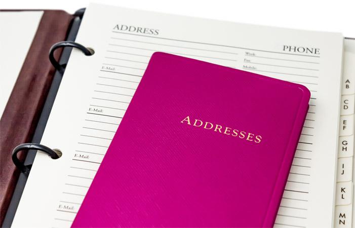 Key West Pocket Address Book
