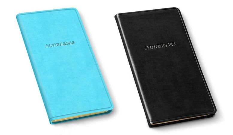 pocket address books