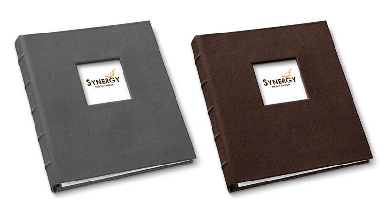 presentation binders in freeport slate and freeport mocha