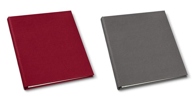 presentation binders in camden red and freeport slate