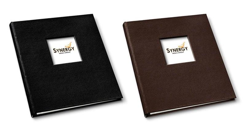 presentation binders in freeport black and freeport mocha