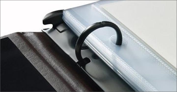 ring-bound presentation binders