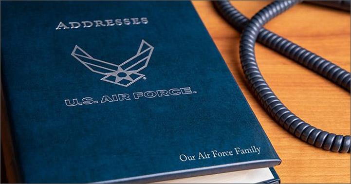 personalized USAF item
