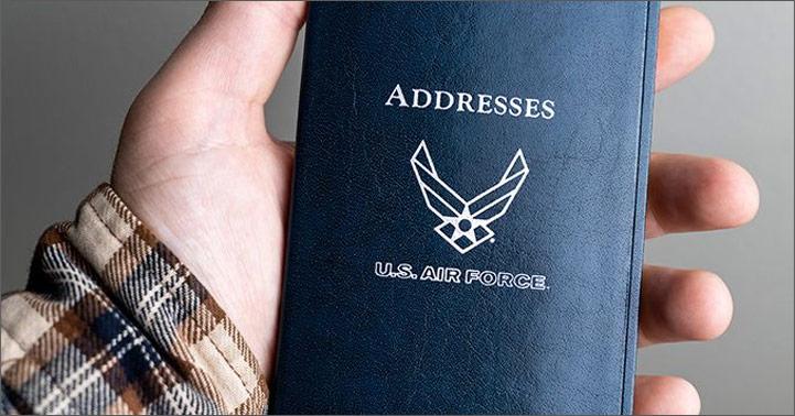USAF Pocket Address Book