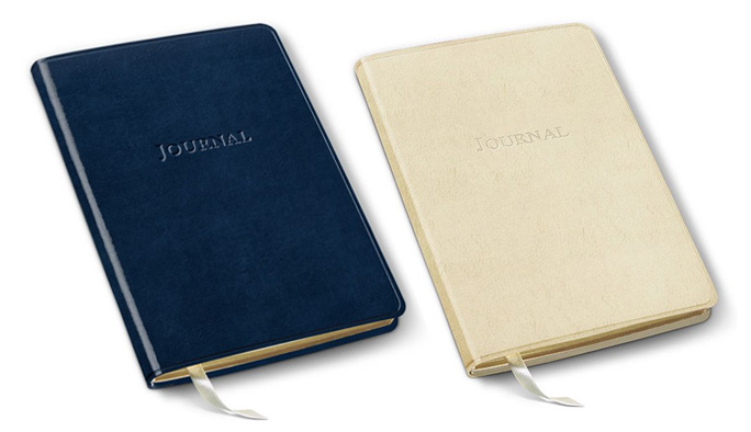 journals in acadia navy and freeport ivory