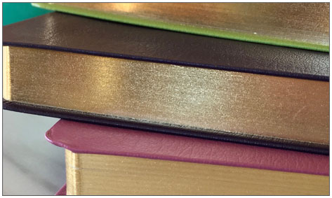 Gold page gilding