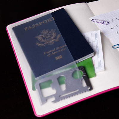 Plastic Pocket Desk - Full Size