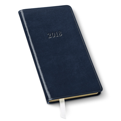 2018 Pocket Weekly Planner Gallery Leather