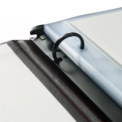 Bonded leather presentation binder no window – jenni bick bookbinding.