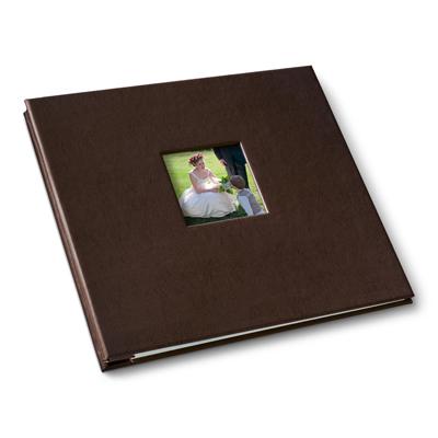 6 up leather photo album