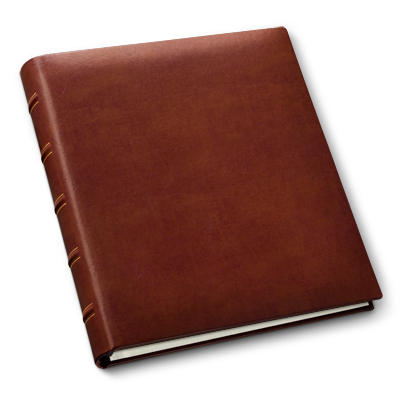 Personalized Photo Albums Gallery Leather Made In Maine