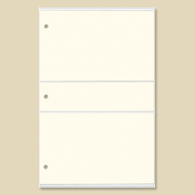 Slimline Photo Album Refill 4x6 Gallery Leather