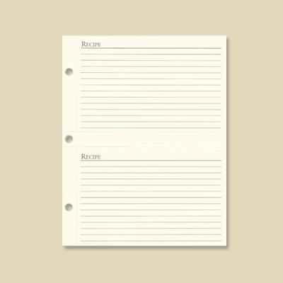 Recipe Organizer Card Refill 4x6 Quot Gallery Leather